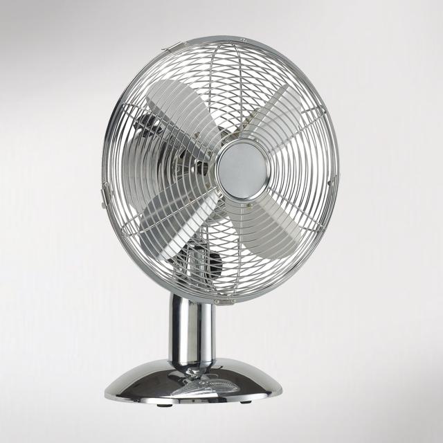 ayce elettrodomestici aireo ventilatore da tavolo 40 cm cromo