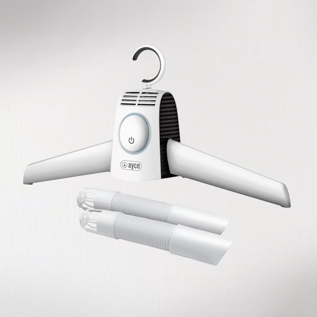 ayce elettrodomestici caldeo asciugatore 2 in 1 per indumenti e calzature